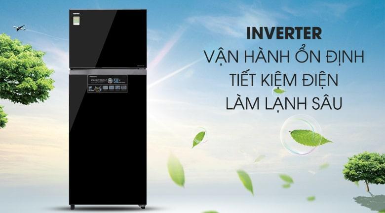 công nghệ inverter tiết kiệm điện,vận hành ổn định