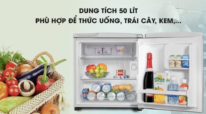 Tủ lạnh Electrolux EUM0500SA/SB dung tích 50 lít