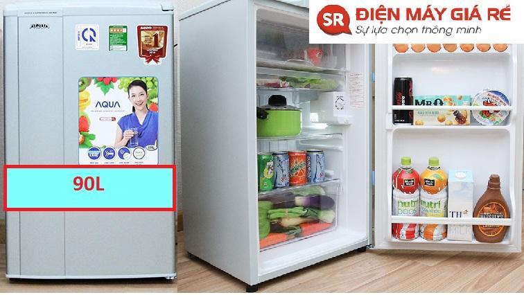 tủ lạnh aqua 90l