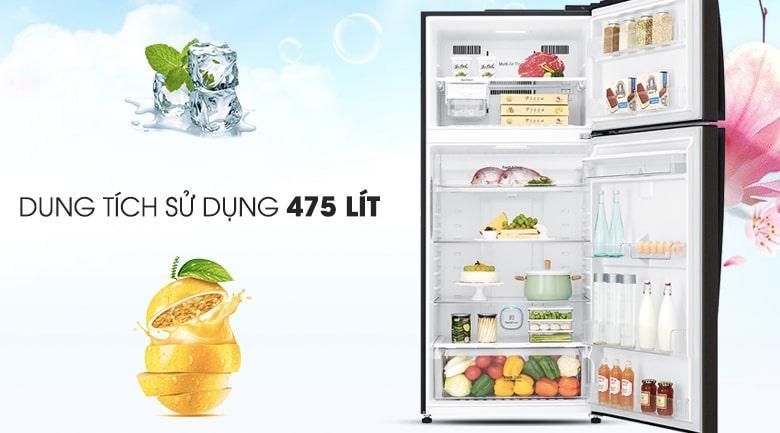 Tủ lạnh LG GN-D602BL dung tích 475 lít