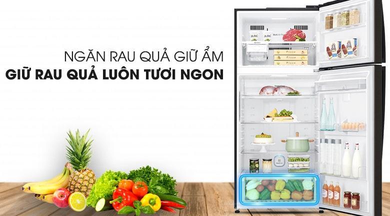 Tủ lạnh LG GN-D602BL ngăn rau quả giữ ẩm