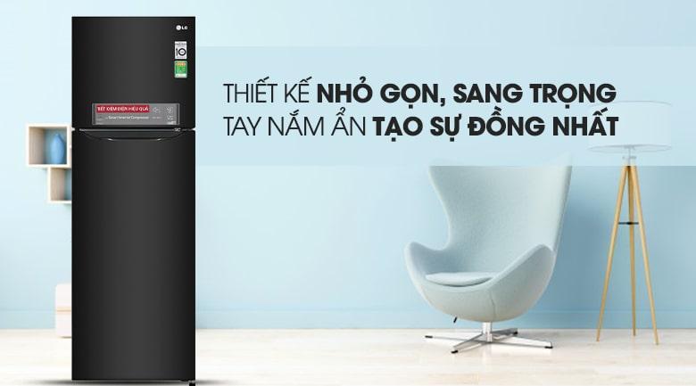 Tủ lạnh LG GN-M255BL có thiết kế nhỏ gọn,sang trọng