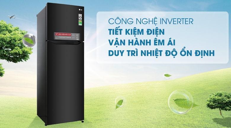 công nghệ inverter tiết kiệm điện vận hành êm ái,duy trì nhiệt độ ổn định