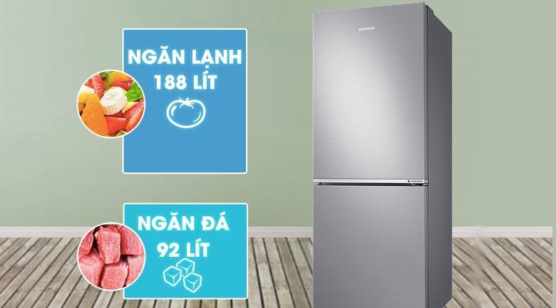 Tủ lạnh Samsung RB27N4010S8/SV sở hữu dung tích 280 lít