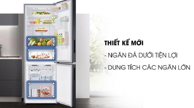 Tủ lạnh Samsung RB27N4170S8/SV thiết kế mới