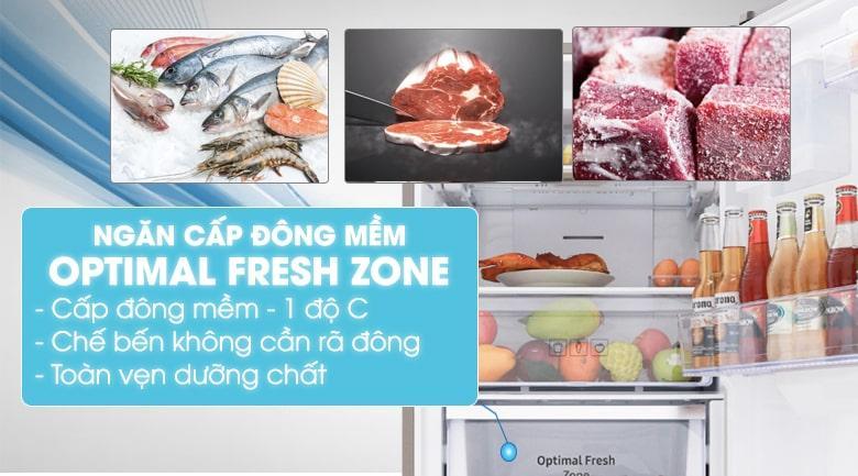 Tủ lạnh Samsung RB27N4180B1/SV có ngăn đông mềm OPTIMAL FRESH ZONE