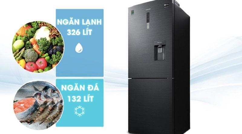 Tủ lạnh Samsung RL4364SBABS/SV có dung tích 498 lít