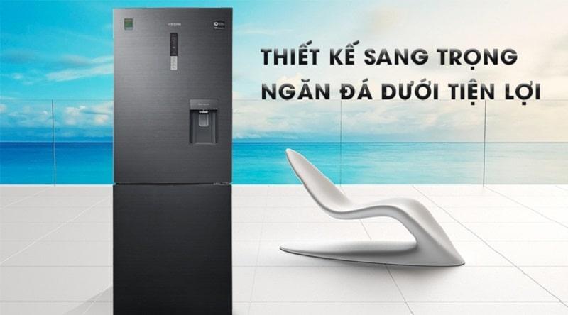 Tủ lạnh Samsung RL4364SBABS/SV thiết kế hiện đại