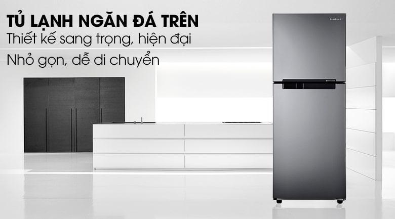 Tủ lạnh Samsung RT19M300BGS/SV thiết kế sang trọng,hiện đại
