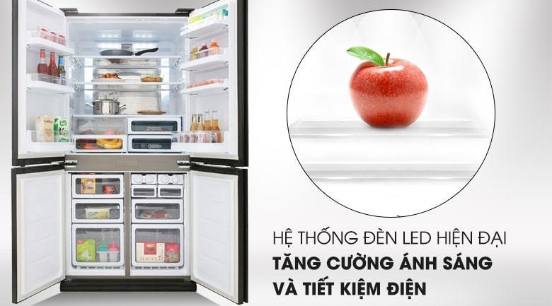 hệ thống đèn LED hiện đại tăng cường ánh sáng và tiết kiệm điện