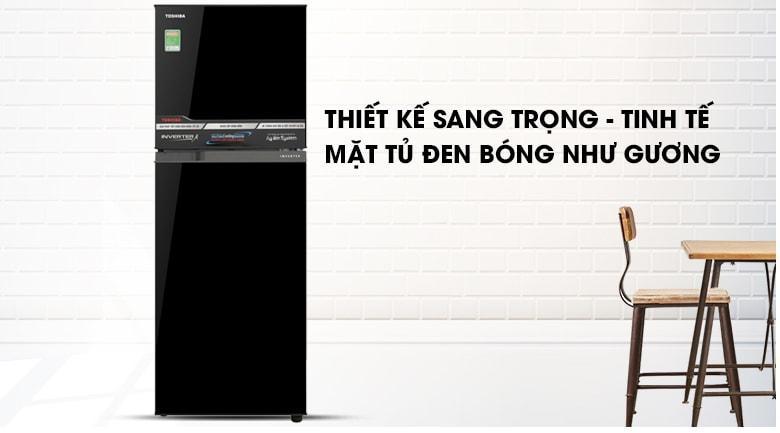 Tủ lạnh Toshiba GR-A28VM(UKG) thiết kế sang trọng-tinh tế