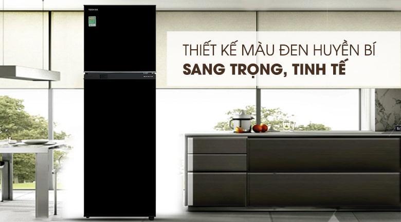 Tủ lạnh Toshiba GR-B31VU UKG thiết kế sang trọng,tinh tế
