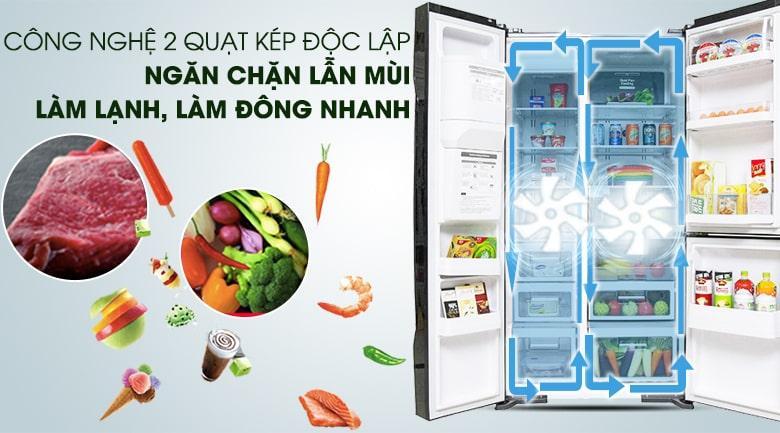 Tủ lạnh Hitachi Inverter 584 lít R-M700GPGV2 GBK