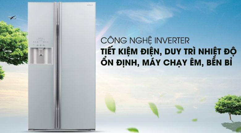 Tủ lạnh Hitachi Inverter 589 lít R-S700GPGV2 GS