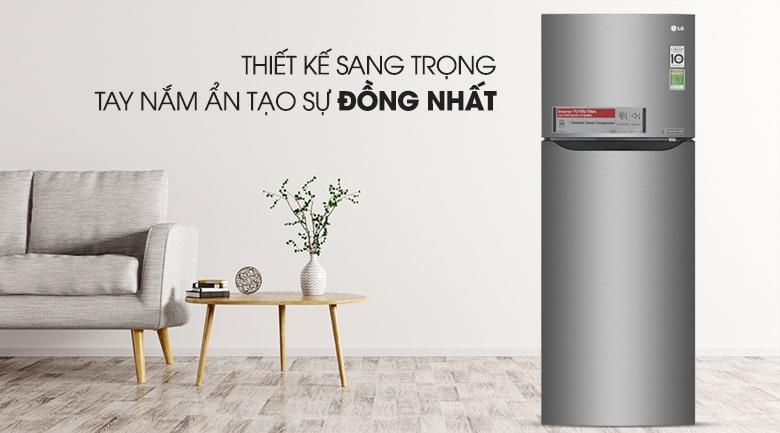 Tủ lạnh LG GN-L208S thiết kế hiện đại
