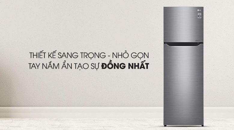 Tủ lạnh LG GN-L255S thiết kế sang trọng