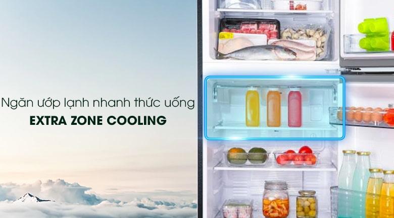 ngăn ướp lạnh nhanh thức uống EXTRA ZONE COOLING