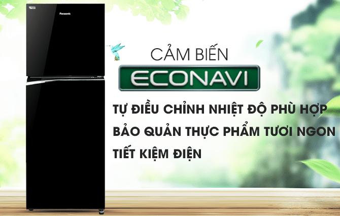 cảm biến ECONAVI tự điều chỉnh nhiệt độ phù hợp