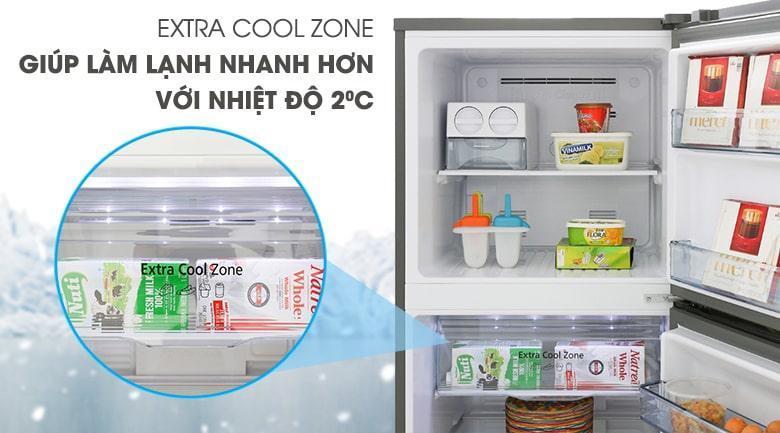 ngăn làm lạnh EXTRA COOL ZONE làm lạnh nhanh