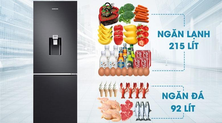 Tủ lạnh Samsung RB30N4180B1/SV dung tích 307 lít