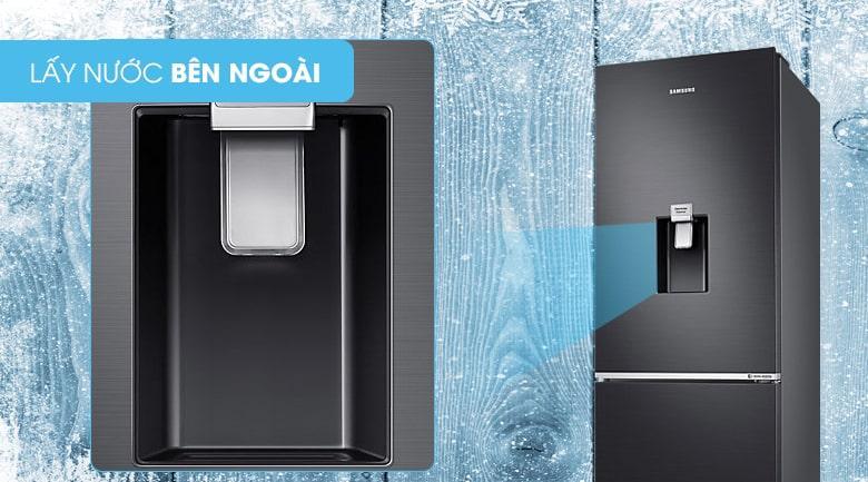 Tủ lạnh Samsung RB30N4180B1/SV lấy nước bên ngoài tiện lợi