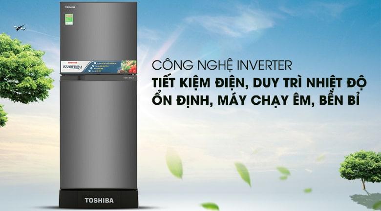 Tủ lạnh Toshiba GR-A25VS (DS) công nghệ inverter tiết kiệm điện