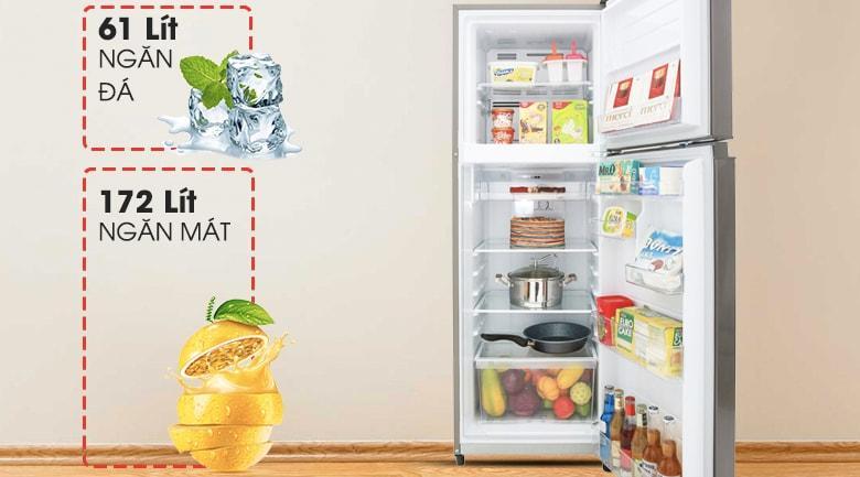 Tủ lạnh Toshiba GR-A28VS (DS) dung tích 233 lít