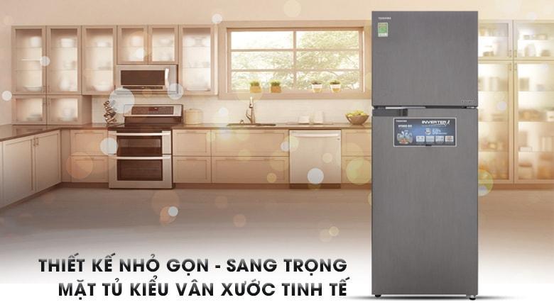 Tủ lạnh Toshiba GR-A36VUBZ DS1 thiết kế nhỏ gọn,tinh tế