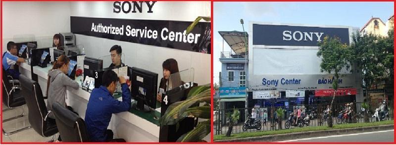 Tivi Sony có nhiều trạm bảo hành