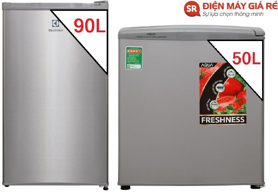 tủ lạnh electrolux 90L-tủ lạnh aqua 50L