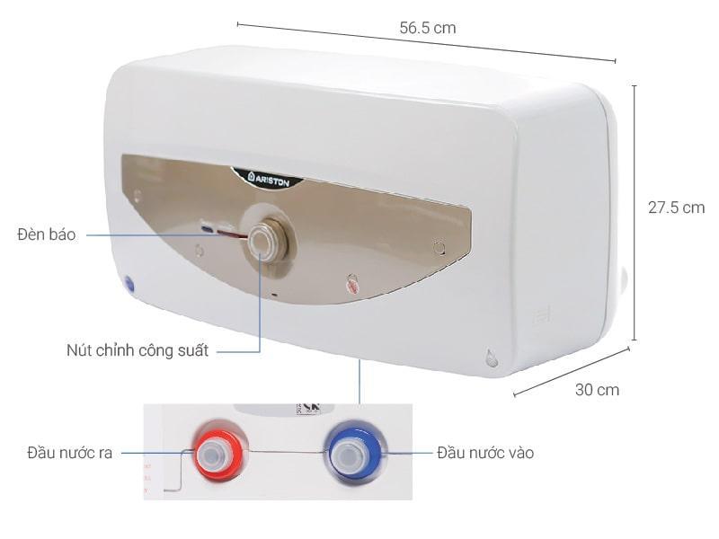 Mô tả chi tiết Bình nóng lạnh Ariston SL 15 MT