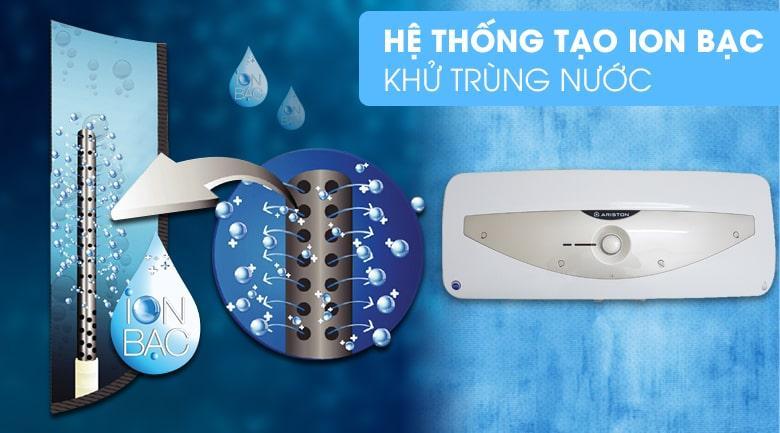 Hệ thống tạo ion bạc khử trùng nước