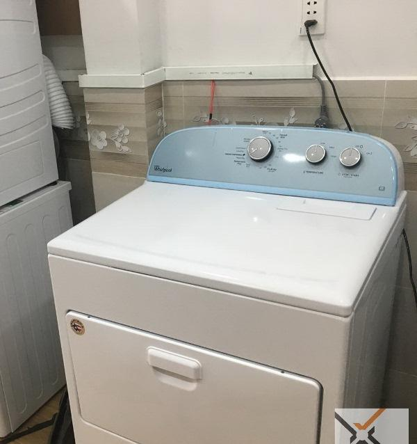 Máy sấy Whirlpool 15kg 3LWED4815FW