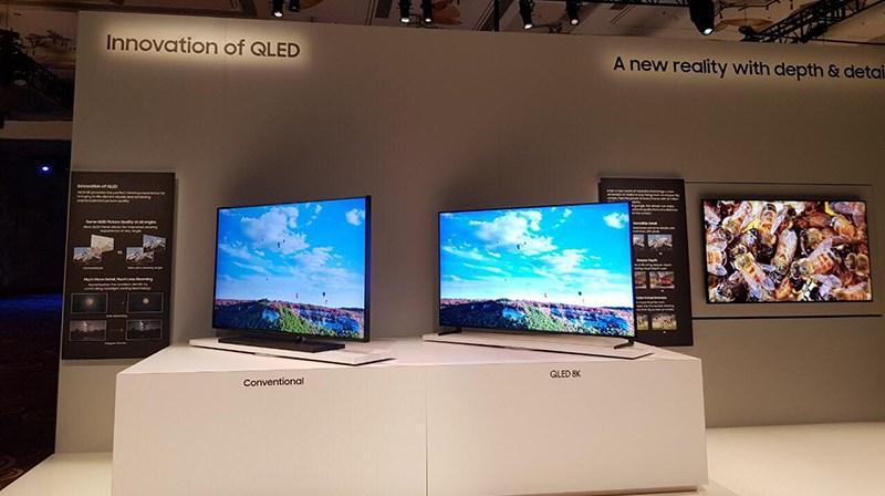 độ sáng của TV QLED hơn TV OLED