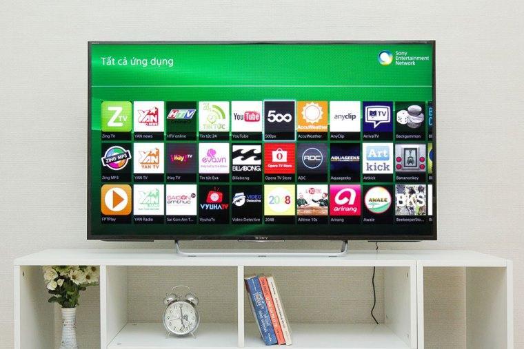 hệ điều hành các sản phẩm tivi của 3 hàng sony,lg,samsung