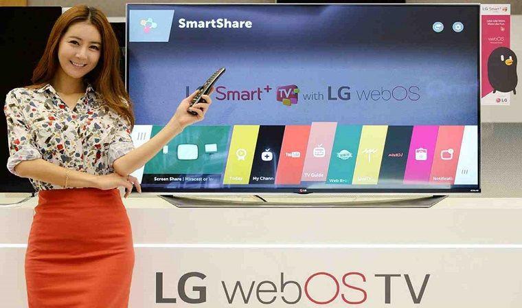 hệ điều hành WebOS TV của tivi LG
