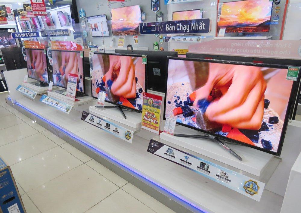 Nên mua tivi bao nhiêu inch