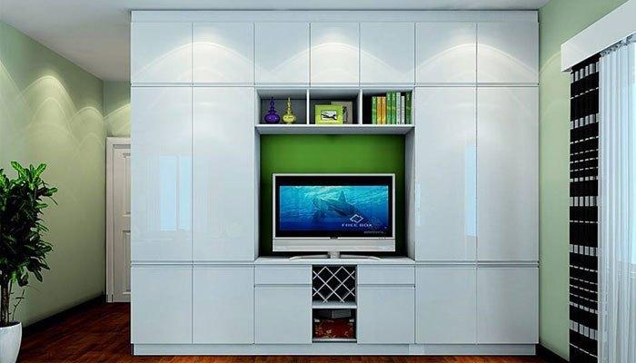 Sai lầm khi lắp đặt tivi ở hộc tủ kín, chật chội