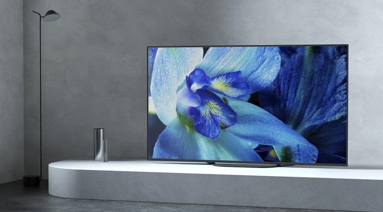 Android Tivi OLED Sony KD-55A8G màn hình đẳng cấp