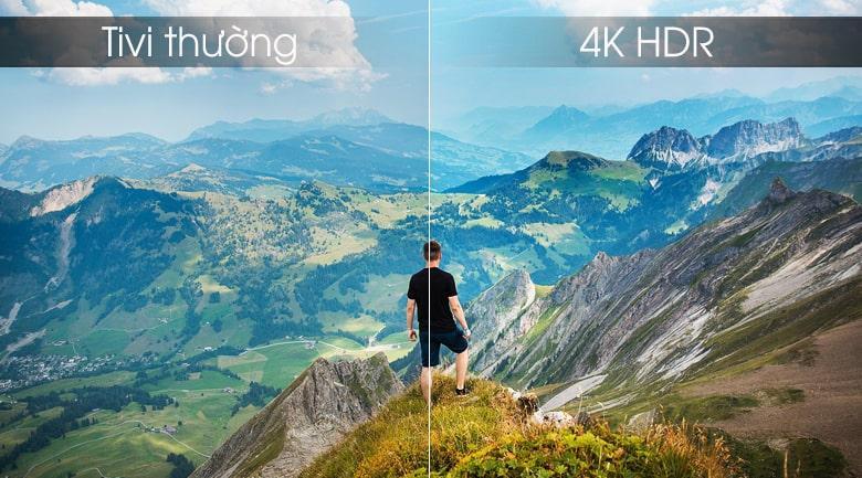 trải nghiệm 4K HDR