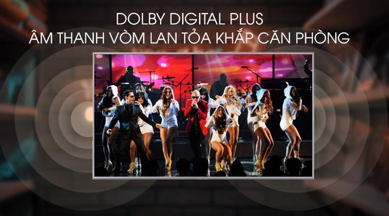công nghệ dolby digital plus cho âm thanh vòm lan tỏa khắp căn phòng