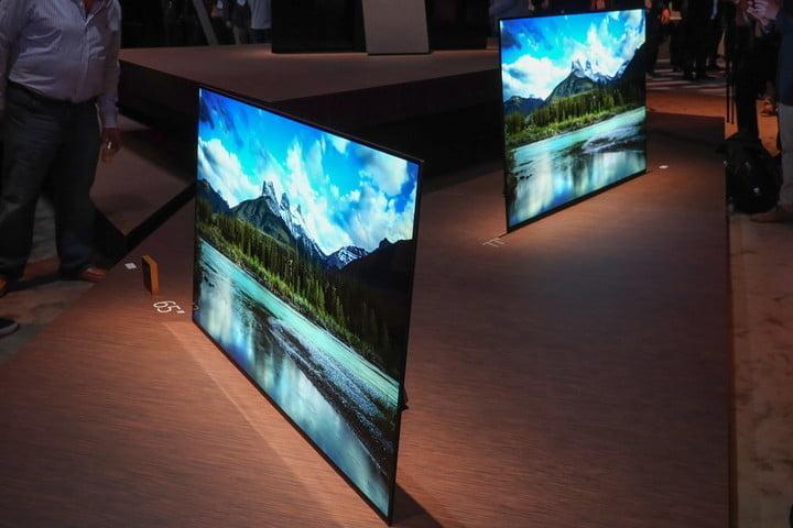 mức độ tương phản của tivi OLED