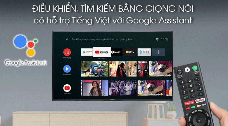 điều khiển,tìm kiêm bằng giọng nói có hỗ trợ tiếng Việt với Google Assistant