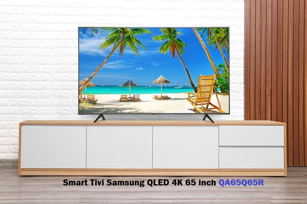 Smart tivi samsung QLED 4K 65 inch QA65Q65R