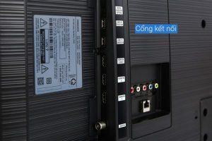 các cổng kết nối của tivi
