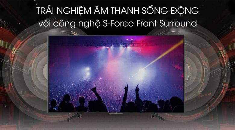 trải nghiệm âm thanh sống động với công nghệ S-Force Front Surround