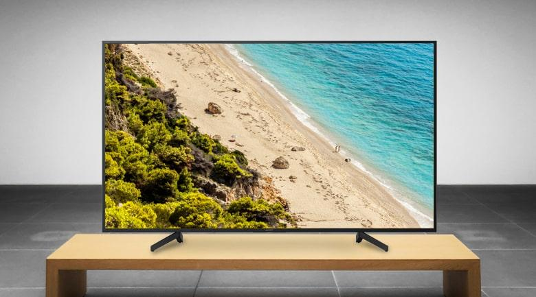 Android Tivi Sony KD-55X8000G kiểu dáng hài hòa, hiện đại