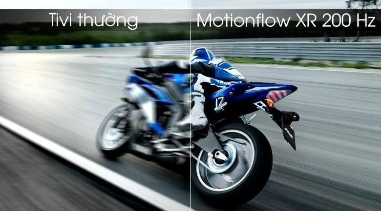 Android Tivi Sony KD-55X8000G trang bị Motionflow XR 200 Hz