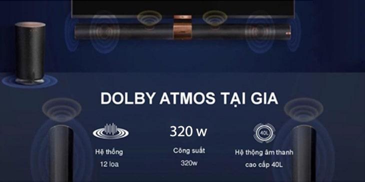 tivi TCL giá rẻ trang bị Dolby Atmos tại gia