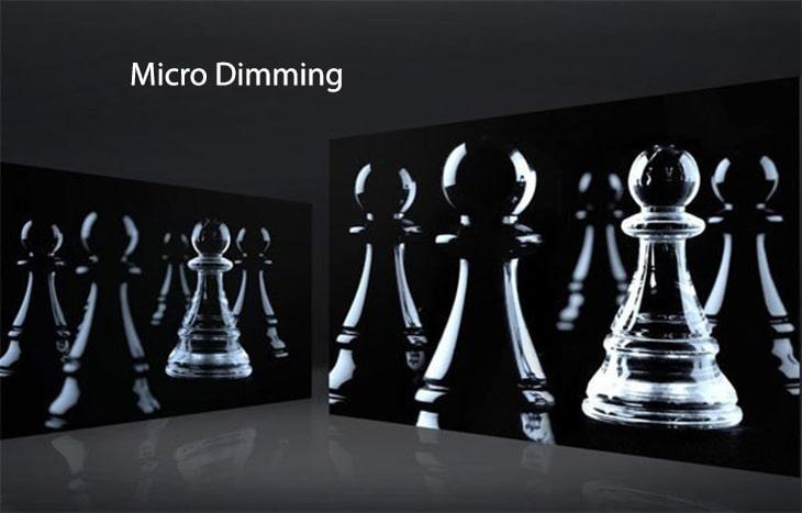công nghệ micro dimming trên tivi TCL